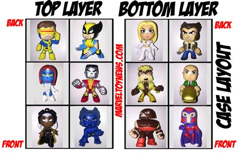 gamestop layout funko x men mystery minis case layouts hot topic