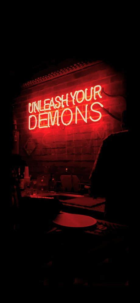unleash  demons   ix red aesthetic dark