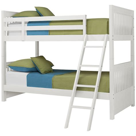 White Futon Bunk Bed White Bunk Bed
