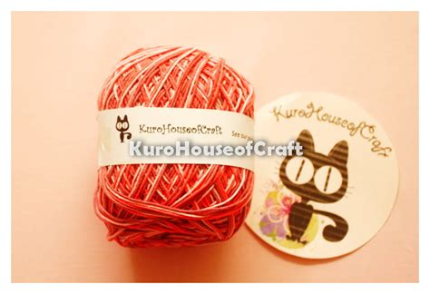 Benang Mix kurohouse of craft benang katun sembur cotton yarn mix