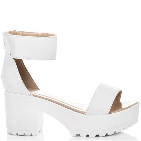 sweetest white sandals shoes from spylovebuy