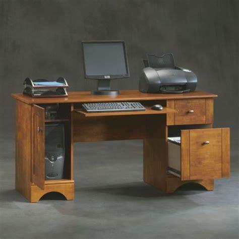 brushed maple computer desk 8802584 officefurniture