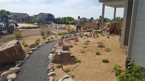 Backyard Rock Ideas Xeriscape Alpine Landscaping