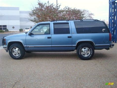 chevy suburban blue atlantic blue metallic 1994 chevrolet suburban k1500 4x4