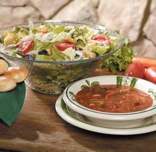 olive garden soup salad and breadsticks all things