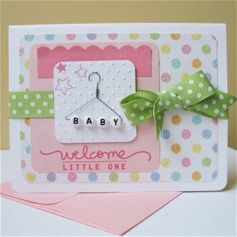 Handmade Newborn - card blanc by kathy martin handmade from the