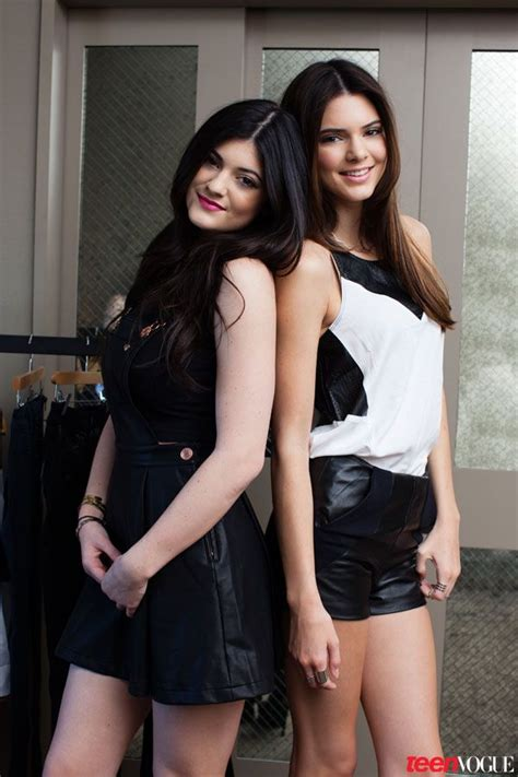 kendall jenner banned her kardashian sisters from kendall and kylie jenner tell us about their new pacsun