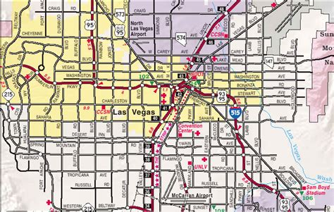 map of vegas map of las vegas city pictures