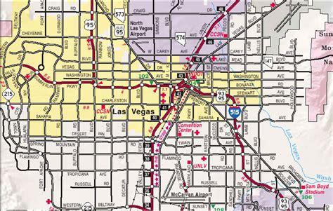printable las vegas road map map of las vegas city pictures