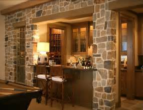 small home bar stone wall accents classic home interior classic living room with pink accents interior design