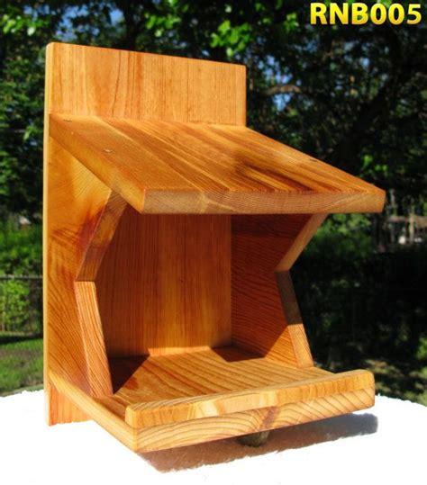 robin mourning dove swallow nest box reclaimed cedar