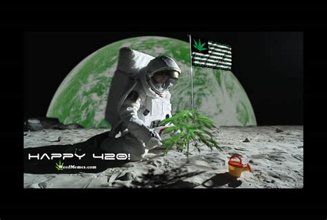 happy  stoned  space green earth weed memes