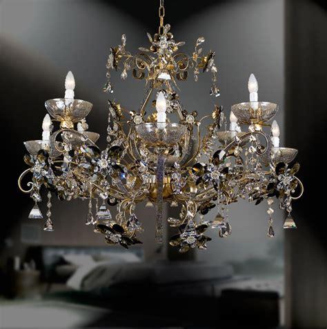 Antique Style Chandeliers Swarovski Antique Style Murano Glass Chandelier Mel264k9