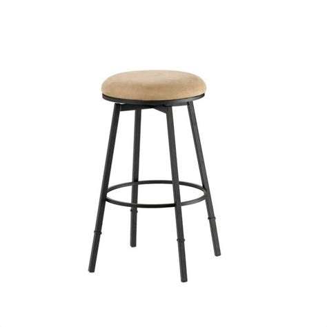 dining barstools backless adjustable and more hillsdale sanders 24 quot 30 quot adjustable backless stool in