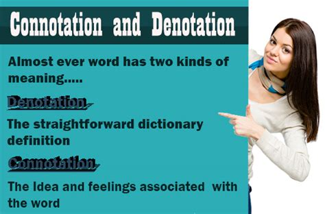 neutral connotation connotation and denotation definition words sentences neutral tutorvista