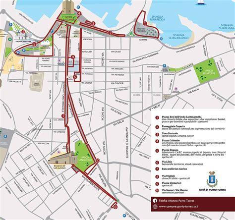 mappa porto torres festha manna porto torres 2016 scopri il programma