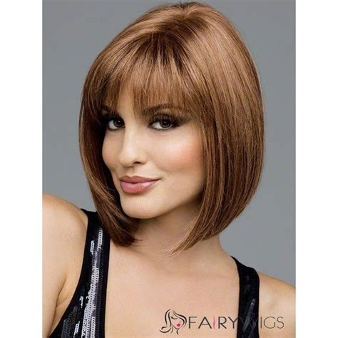 european bob hair style european style short straight honey brown 12 inch 100
