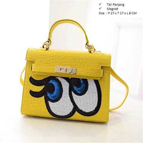 Tas Import Murah Cm2090 Yellow jual b27819 yellow tas fashion imut grosirimpor