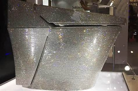 world s most expensive toilet is encrusted with 72 000