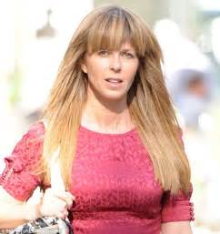 kate garraway shows off long locks ahead of her debut on