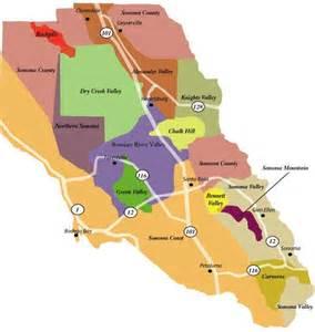 sonoma california wineries map the world s catalog of ideas