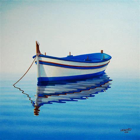 fishing boat ii by horacio cardozo - Boat Art