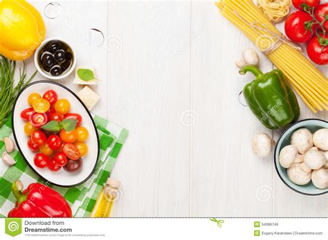 Kitchen Ingredients by Italian Food Cooking Ingredients Pasta Vegetables