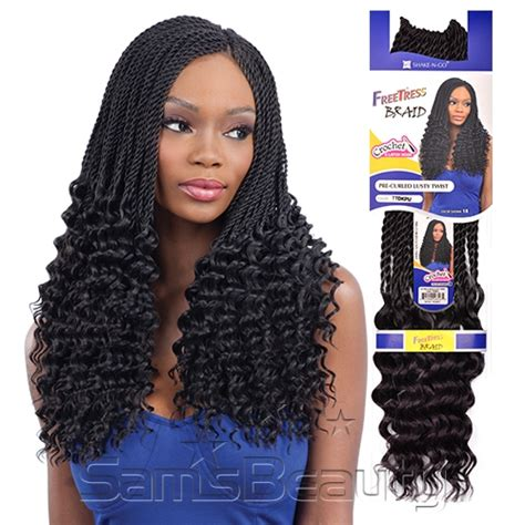 how many bags of pre twisted jaimaican hair is needed freetress synthetic hair crochet braids pre curled lusty