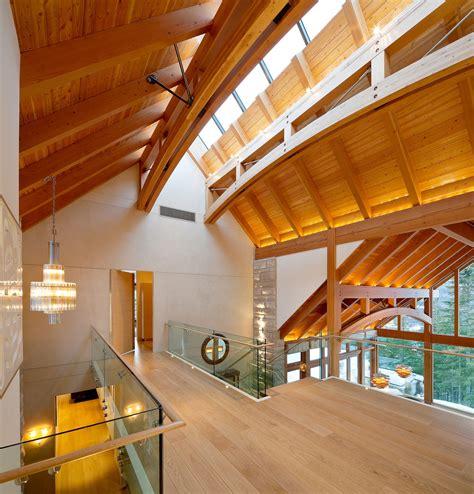 luxury timber frame mountain retreat in whistler
