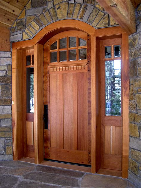 What Are Exterior Doors Made Of Hints On Buying Craftsman Style Entry Doors Interior Exterior Doors Design