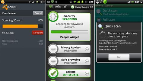 android anti virus best android antivirus apps revealed by av test labs
