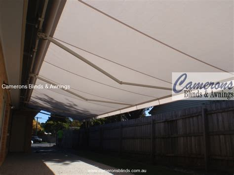 Foldable Awning by Camerons Blinds Awnings Folding Arm Awnings
