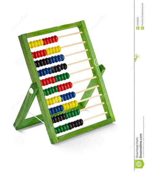 counting tool with abacus counting tool royalty free stock images image