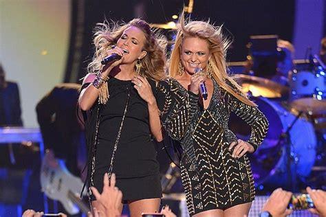 miranda lambert and carrie underwood hit the 2014 cmt music awards with something bad