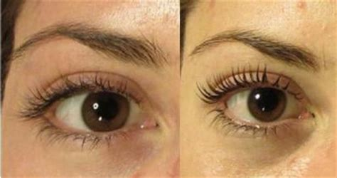 before and after eyelash perm yelp