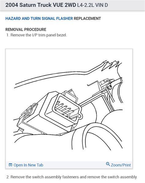 wiring diagram   saturn vue complete wiring schemas