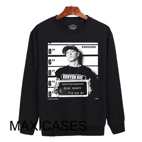 Sweater Eminem Recovery 2 eminem mugshot sweatshirt sweater unisex adults size s to 2xl
