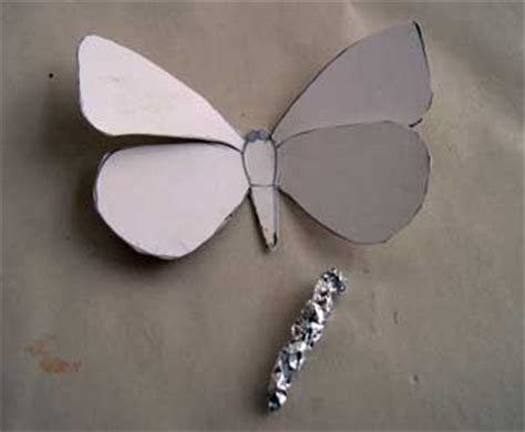 How To Make Paper Mache Butterfly - papier mache of butterfly