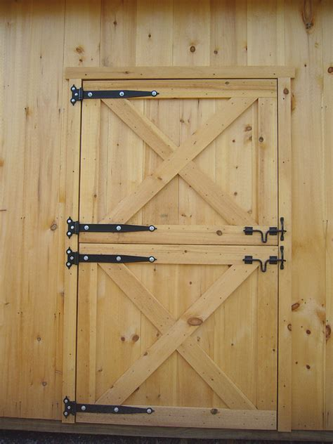 Dutch Barn Doors How To Build Dutch Door Page To Barn Style Shed Doors