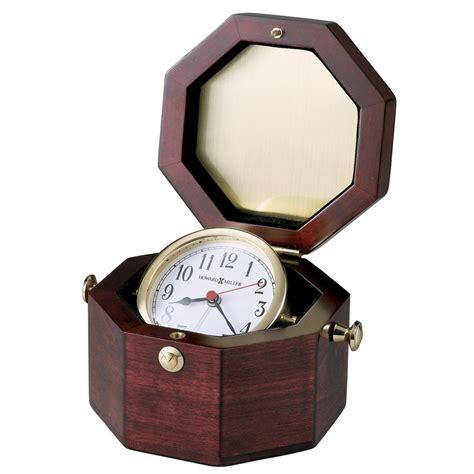 howard miller chronometer quartz alarm clock nautical
