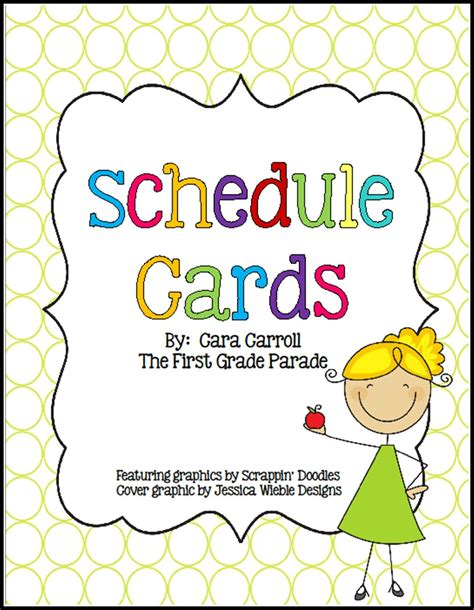 free printable daily visual schedule 5 best images of preschool classroom schedule printables