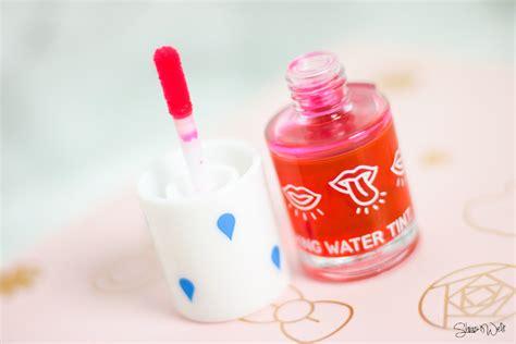 Apieu The Tint a pieu blushing water tint watermelon shia s welt