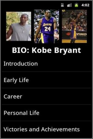 biography book on kobe bryant download biography kobe bryant for android appszoom