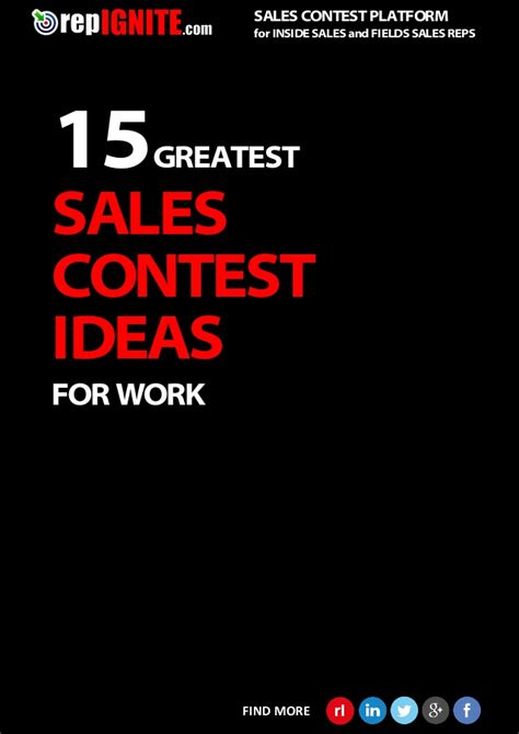 Free Sles Giveaway - 15 greatest sales contests ideas for work