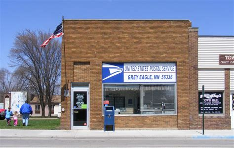 Eagle Post Office by Grey Eagle Minnesota Gallery