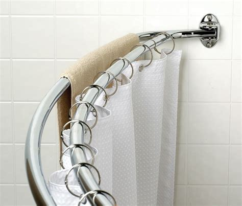 shower curved curtain rod double curved shower curtain rod furniture ideas