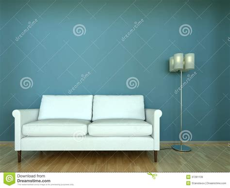 sofa scene interior scene sofa with l royalty free stock images