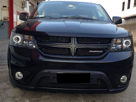 dodge journey black headlights my blacked out 2009 journey welcome dodge journey forum