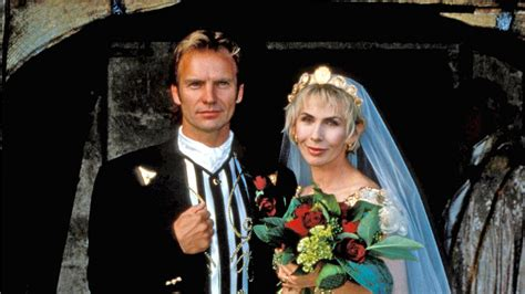 9 Ways to Get Inspired by Sting and Trudie Styler?s Romantic Meets Rock and Roll Wedding