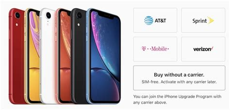 iphone xr now available sim free in the united states